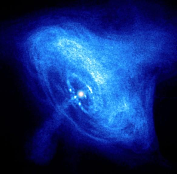 Nature's festival of lights in supernova