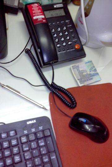 Desktop Phone Instrument
