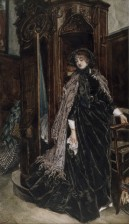 Confessional painting by James Tissot