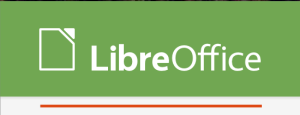 Caption of LibreOffice