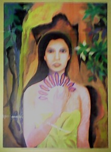 Woman-goddess-painting