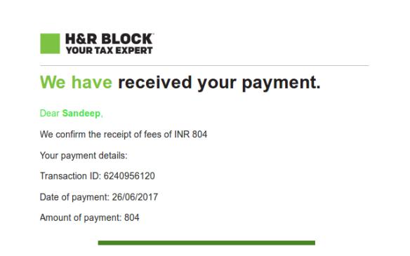 HRBlock-payment